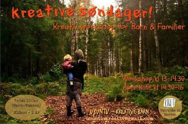 Kreativ Workshop for Barn - Søndager på Knut!