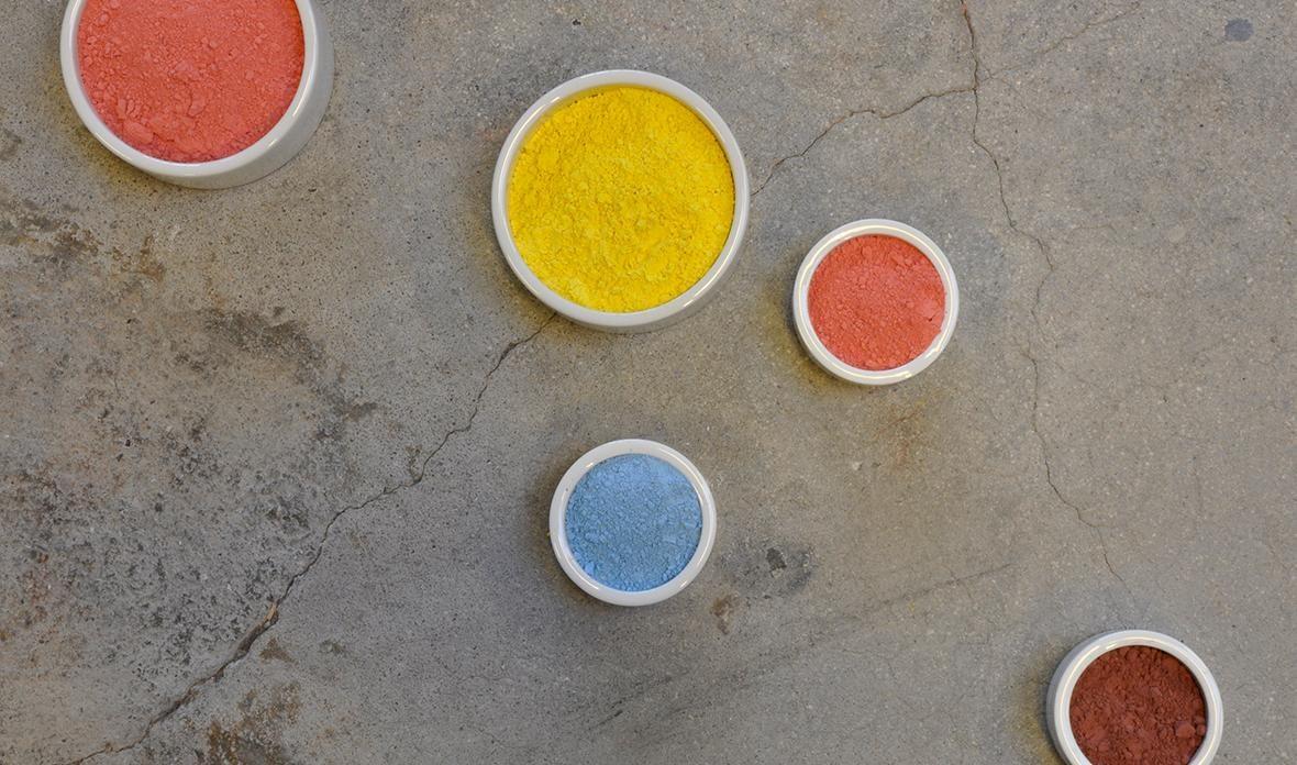 Figgjo har 130 forskjellige farger i sin palett, så her er det bare fantasien som setter grenser for dekoren