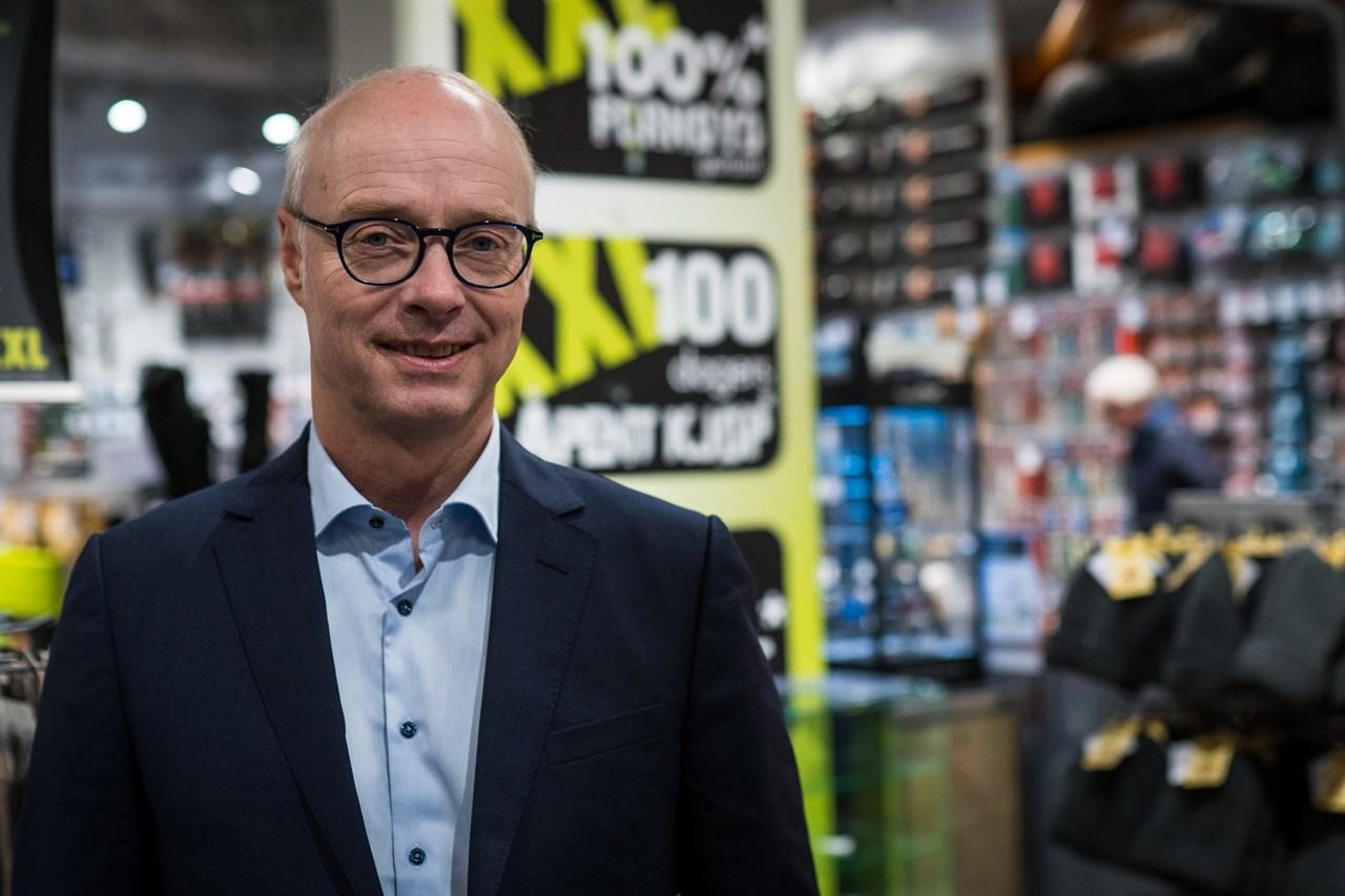 XXL-sjefen Pål Wibe. Foto: Jonas Eikrem.
