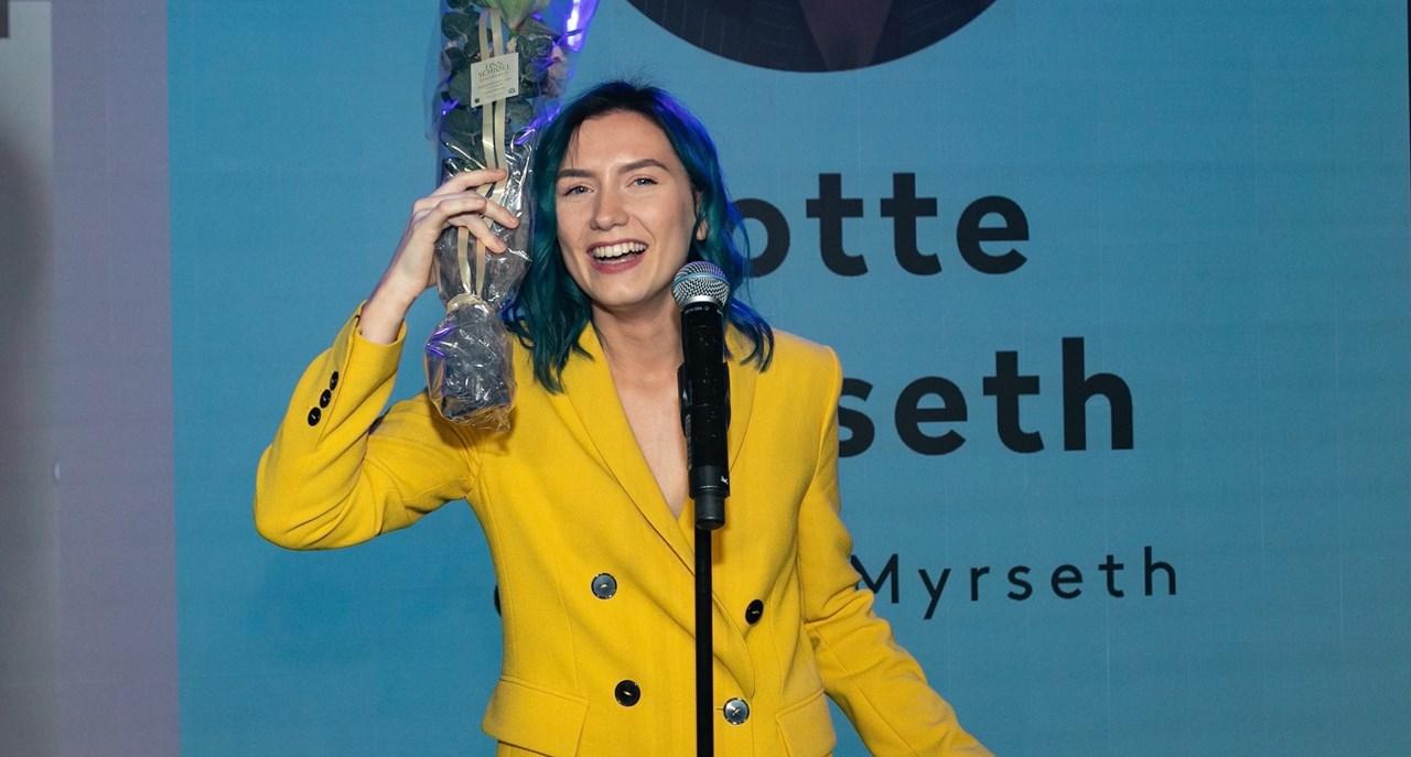 Lotte Myrseth er en influencer som følges av mange og som virkelig engasjerer sitt publikum, uttaler juryen.