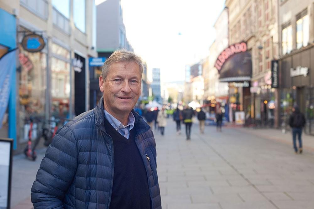 Bjørn Næss, adm. dir. i Oslo Handelsstands Forening.