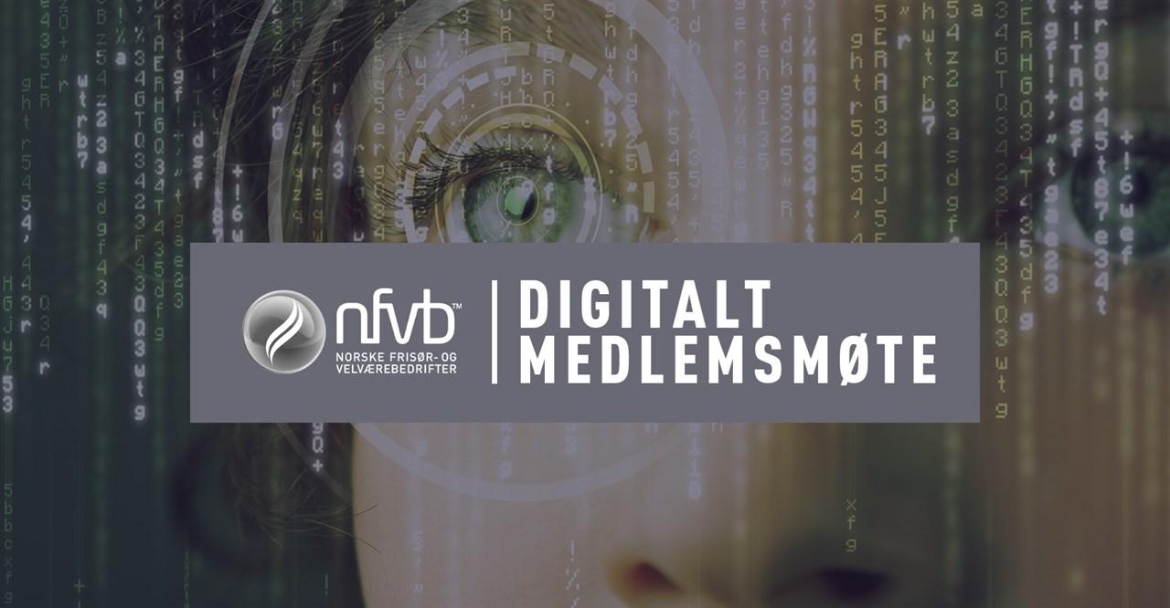 20. april arrangerer NFVB et nytt digitalt medlemsmøte,