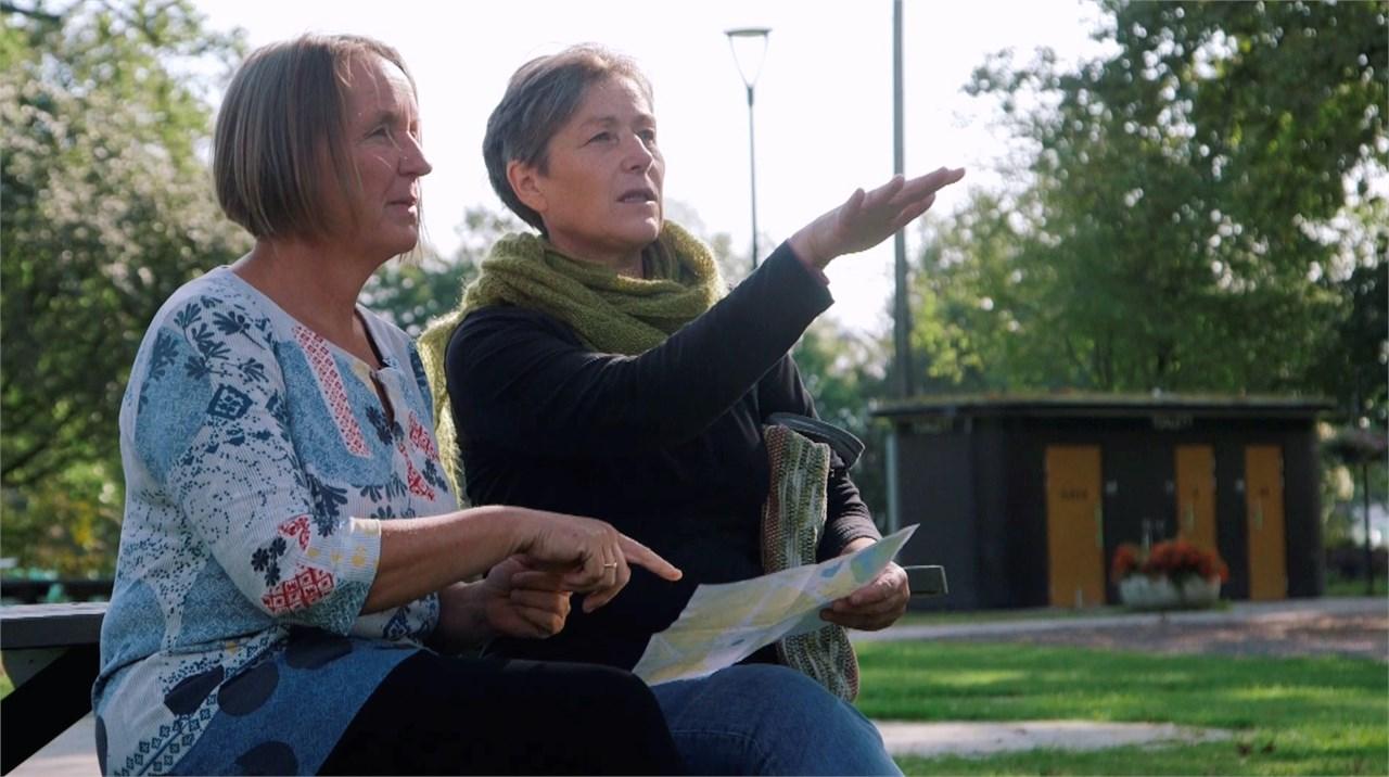 Cathrine Eriksen og Unni Eriksen forberder tidenes frivilligdag
