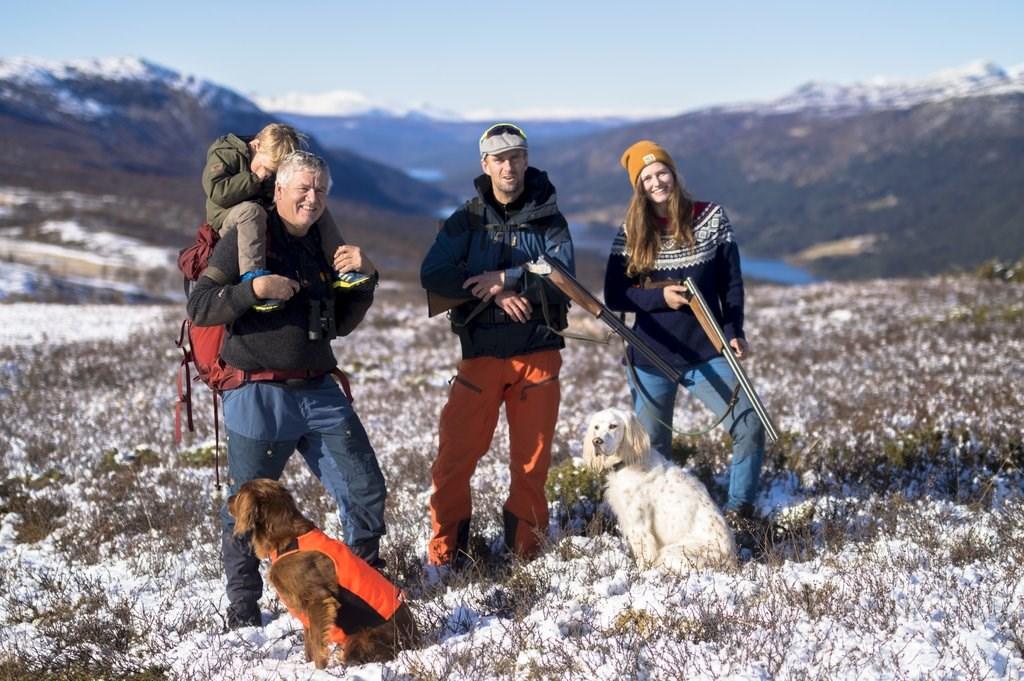 Økende positivitet til jakt. Foto: @norwegiantrio/NJFF