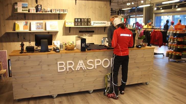 ÅPNET: Tirsdag åpnet Braa Sport sin første butikk på Ullevaal Stadion. FOTO: MORTEN DAHL