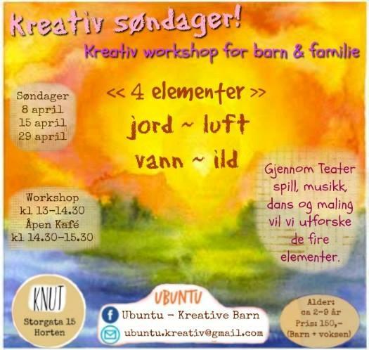 Barnas Kreativ Søndager -