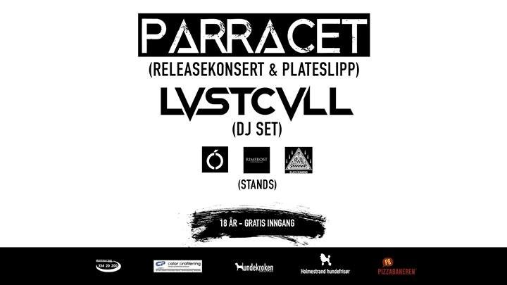 Releasekonsert - Parracett 2. Desember