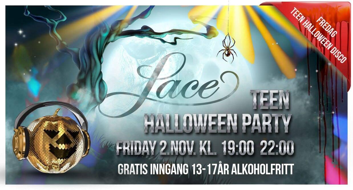 Halloween Teen Disco på Lace (gratis)