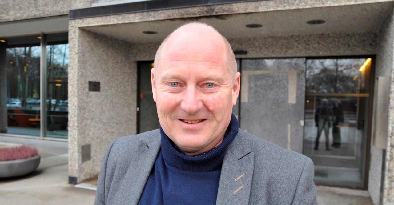 NFVBs visepresident Jørn Inge Næss roser NFVBs tillitsvalgte og medlemmer for innsatsen under koronakrisen.