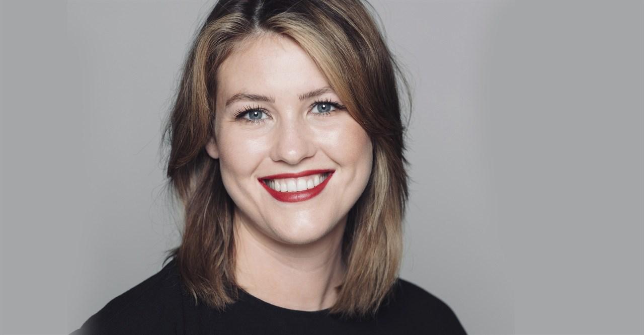 Inger Lise Moa (29) Senior Art Director og faglig leder i Adam og Eva Grensen.