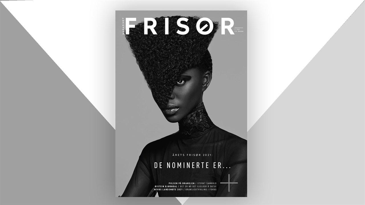 Magasinet FRISØR nr. 1 2021 presenterer blant annet de nominerte til Årets Frisør.