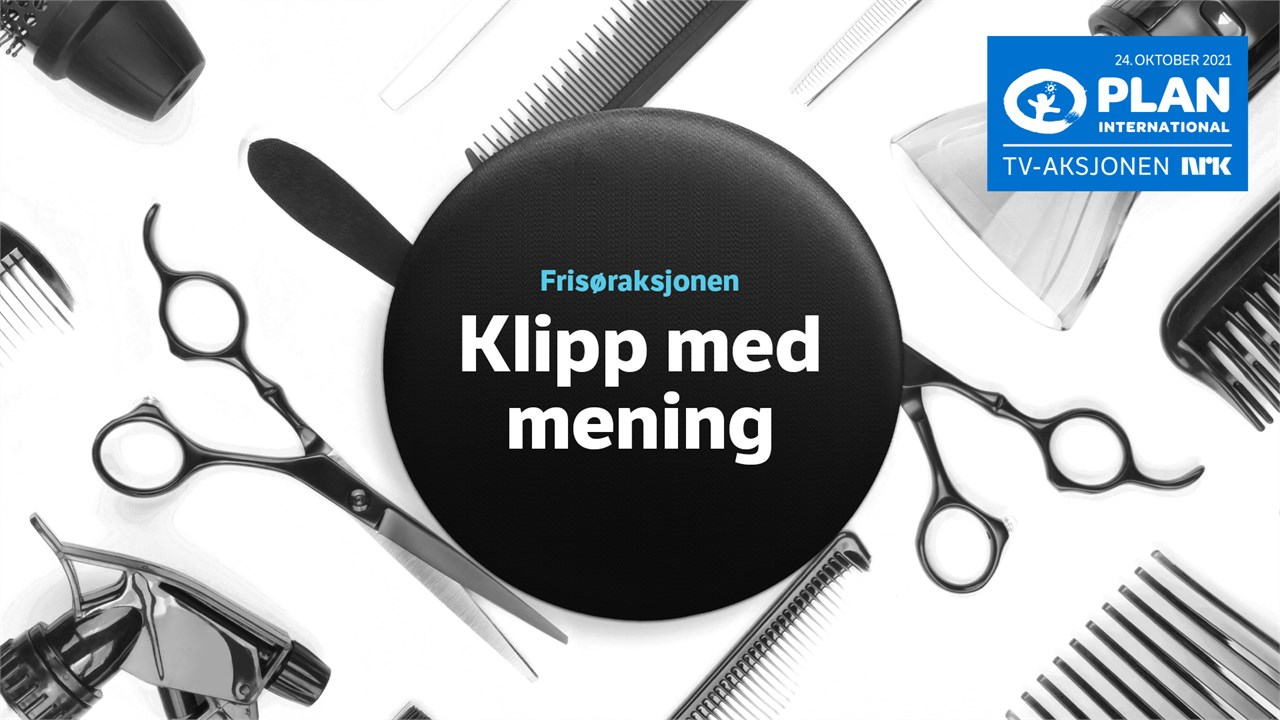 """NFVB oppfordrer salongene til å være med på """"Klipp med mening"""" under årets TV-aksjon."""