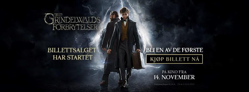 Festpremiere! Fabeldyr: Grindelwalds forbrytelser