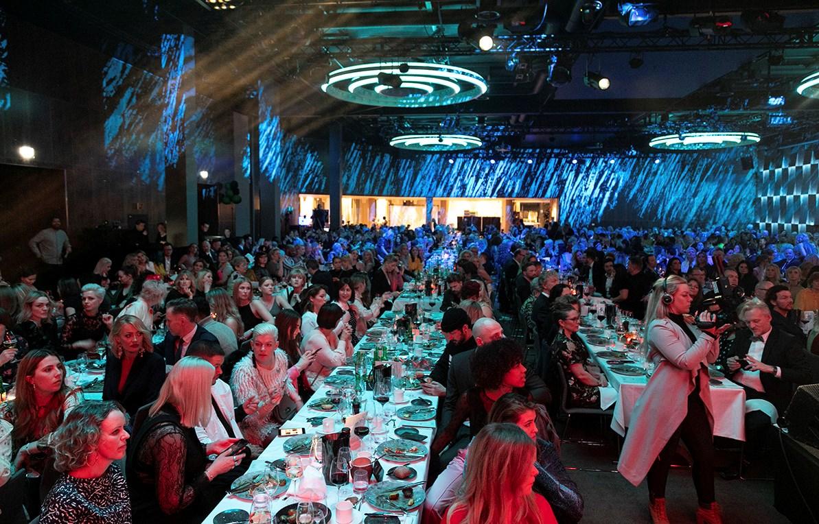 Oslos nye storstue, Clarion Hotel The Hub, var arena for Prisfesten i regi av NFVB.  Foto: Natalia Pipkina
