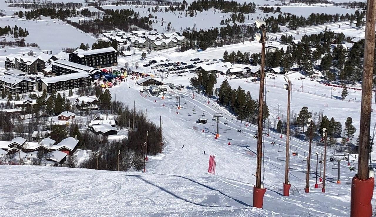 TESTARENA. Alpinbakken knyttet til Vestlia Resort er en perfekt testarena. Bakkene ender på testarenaen, noe som gjør det mulig med raske skibytter for de som vil få med seg mest mulig.