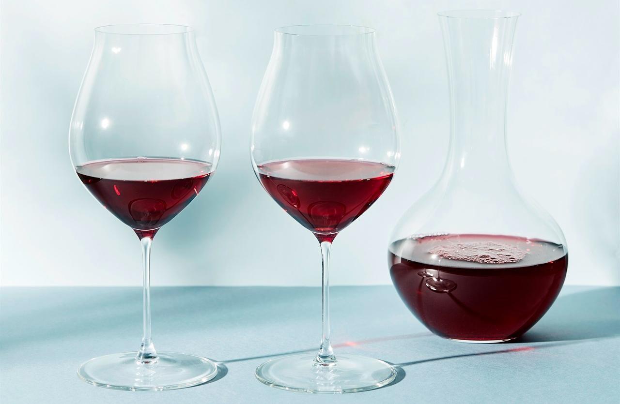 Riedel Performance Pinot Noir og Karaffel