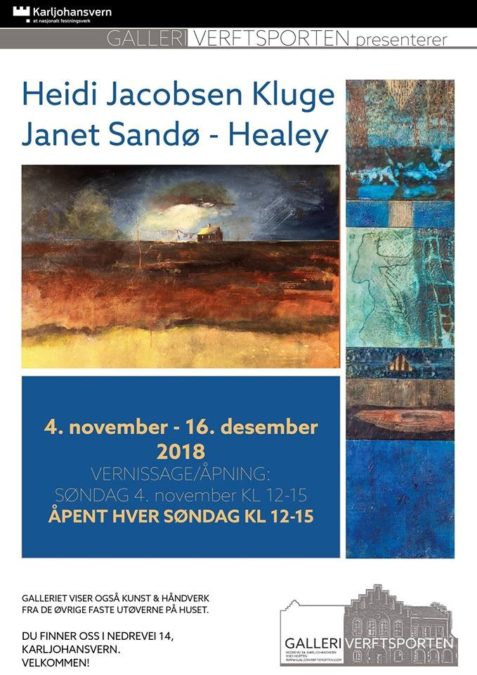 Heidi Jacobsen Kluge & Janet Sandø-Healey