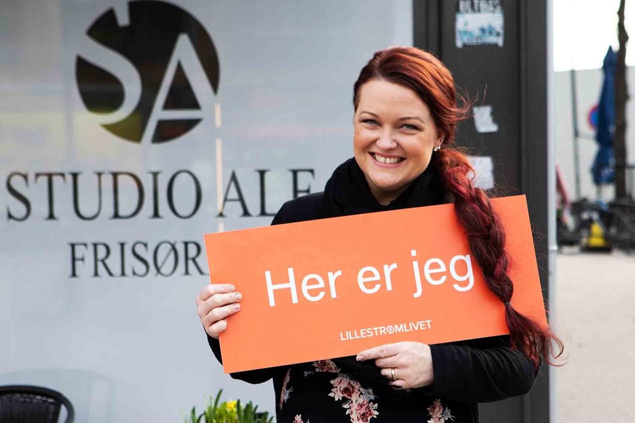 Er Linda Asak Sveen Lillestrøms blideste person? Hun er i alle fall en supergod kandidat!
