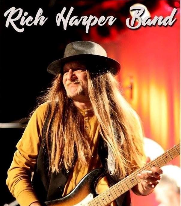 Rich Harper Band på Europaturne