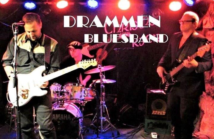 En ettermiddag med Drammen Blues Band.