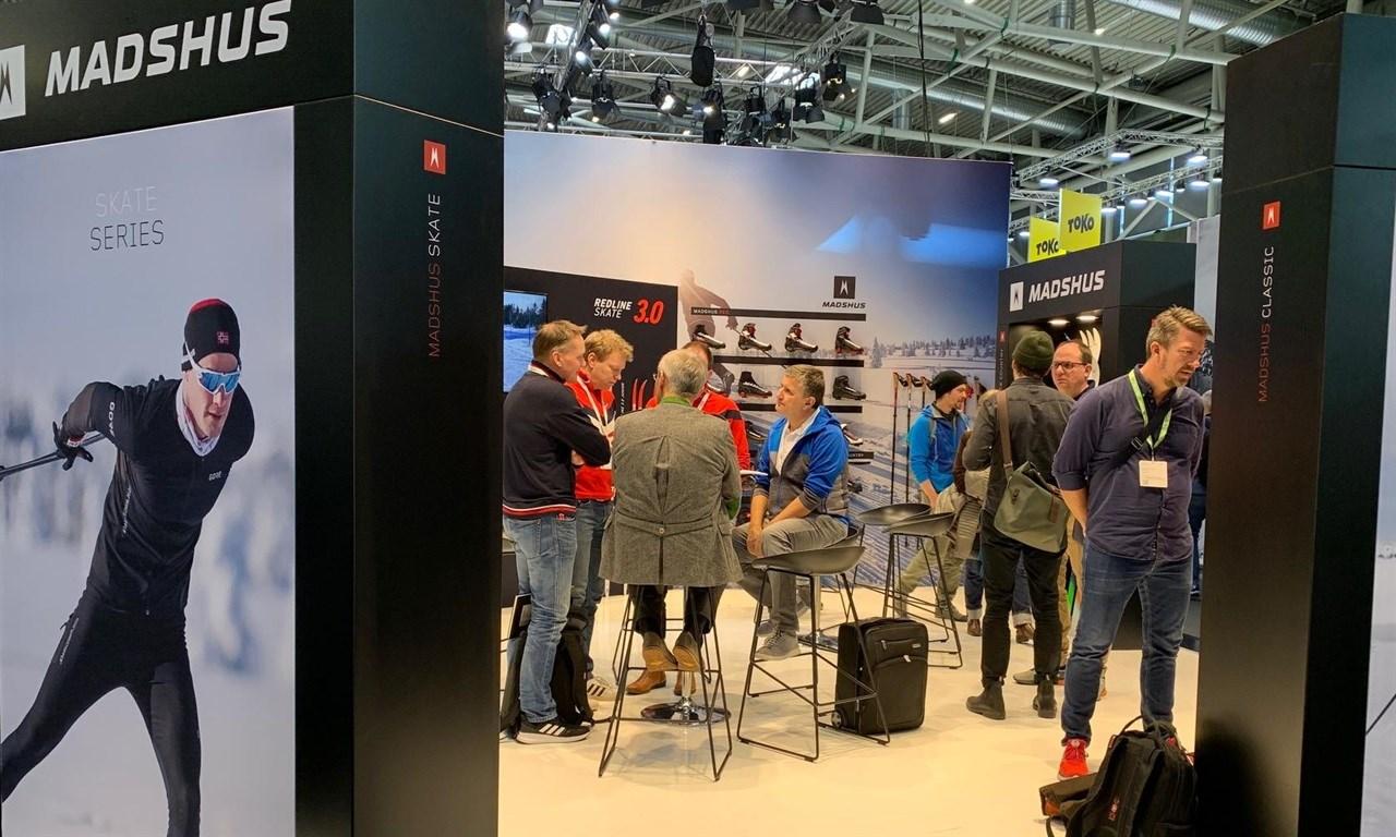På årets ISPO i München i januar, lanserte Madshus blant annet neste sesongs nye toppmodell, Redline 3.0.