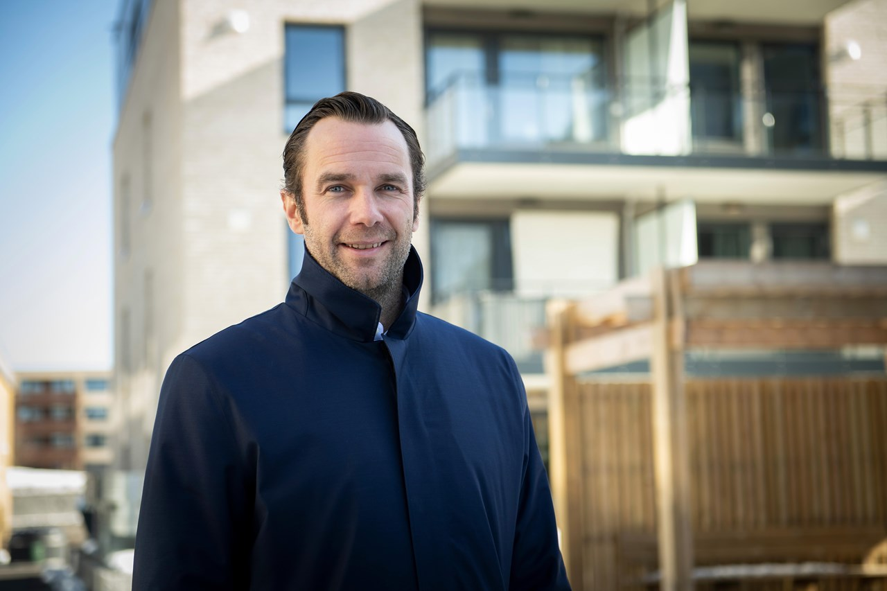 Frederik Selvaag er daglig leder i Selvaag Utleiebolig frem til Ellen Solberg er på plass 1. september 2019.