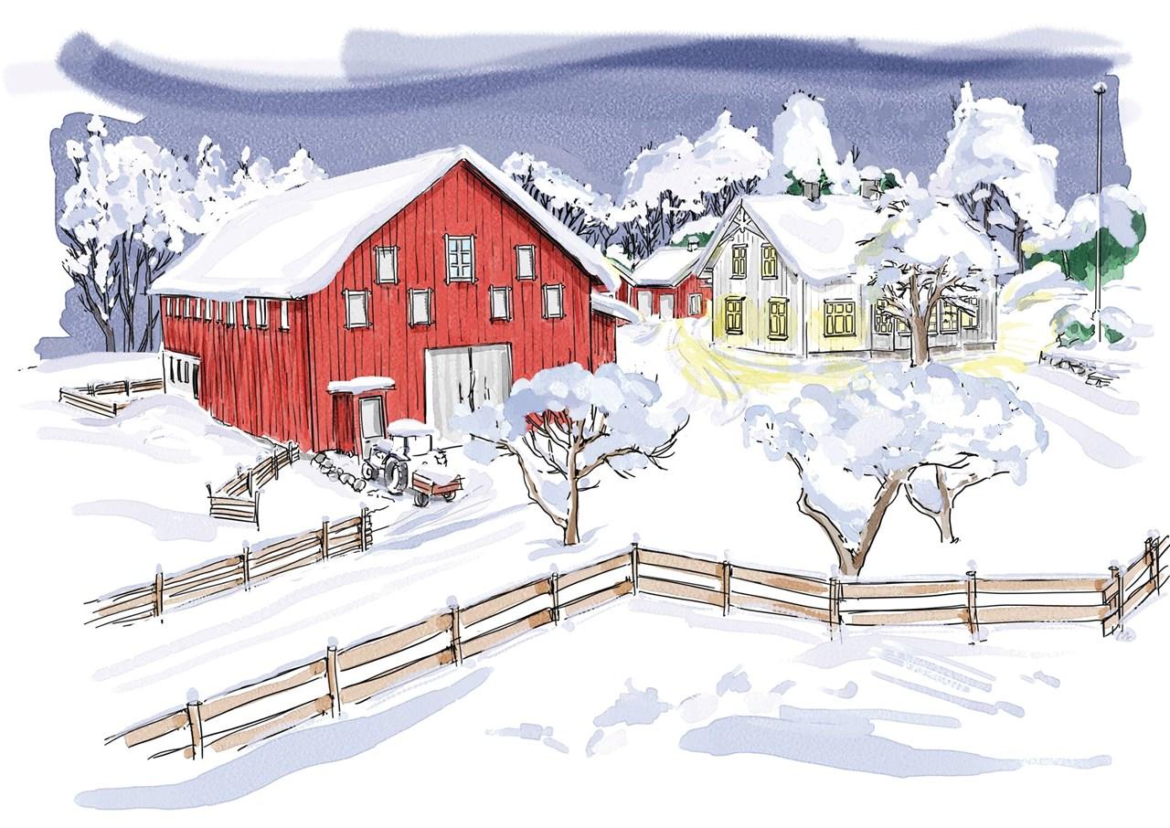 Jul på Buggegården