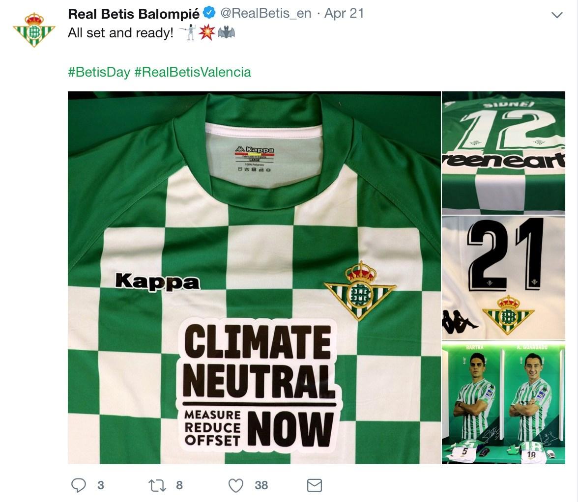Foto: Real Betis' Twitter-konto