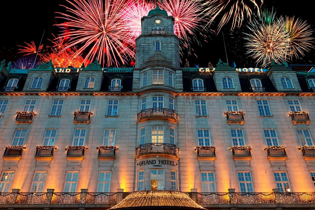 Facade Grand Hotel Oslo