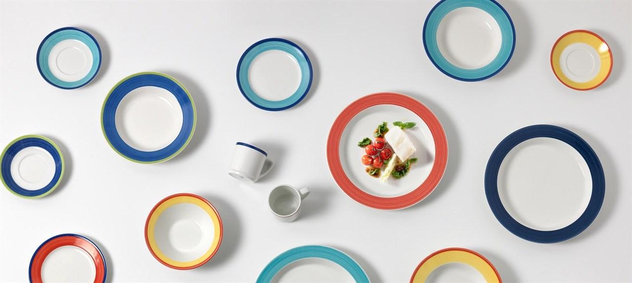 Figgjo Capri med farget kant gir økt apetitt viser en mindre undersøkelse.