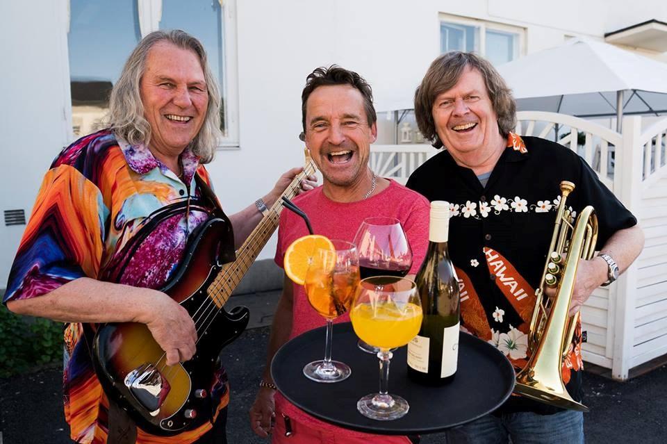 Tom Frogner, Per Ivar Hansen og Odd Brubak. Foto: Anne Merete Hagnæss Rodem