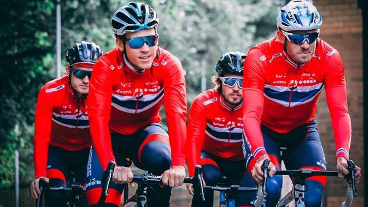I NY DRAKT. Fra neste år blir det Orack som får kle opp Norges sykkellandslag.