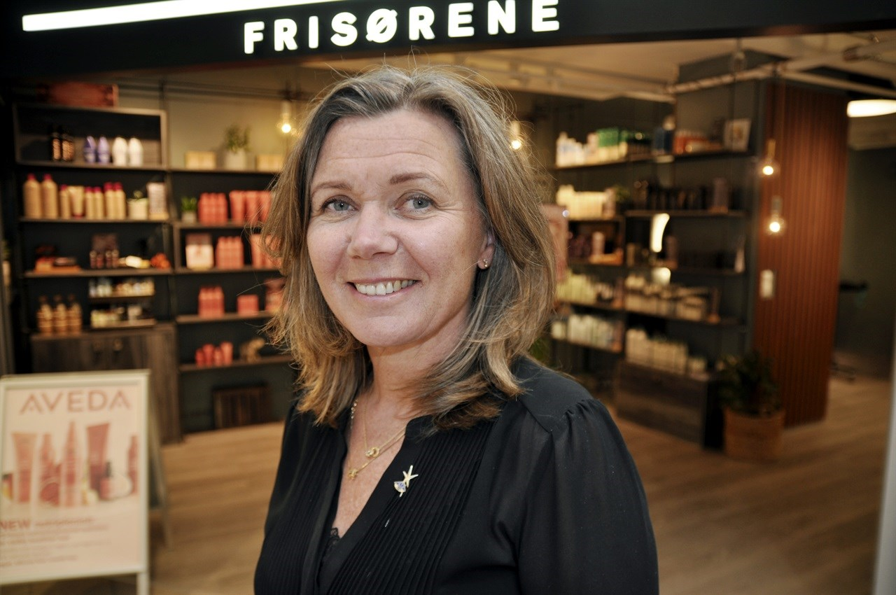 Nyvalgt president i Intercoiffure Norge, Hanne Foss Hellberg.