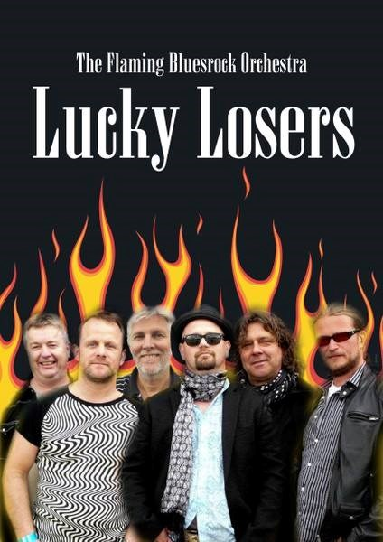 Lucky Loosers er tilbake på Blues`n cover.200 kr