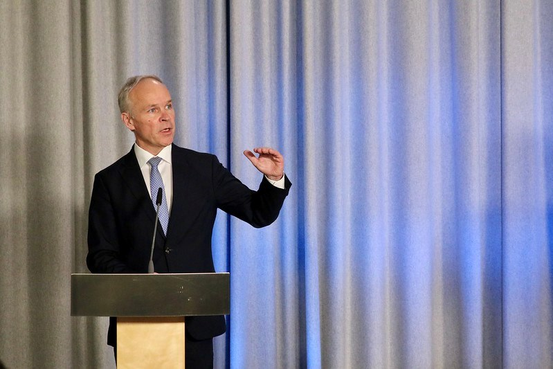 Finansminister Sanner legger frem ordningen på fredag. Foto Eirin Larsen, SMK