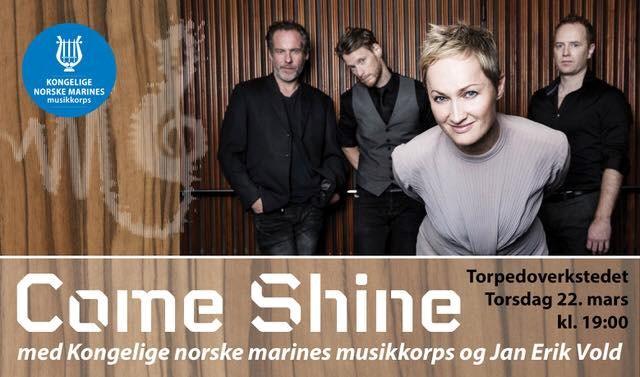 Come Shine med Marinemusikken og Jan Erik Vold // Torpeoverkstedet