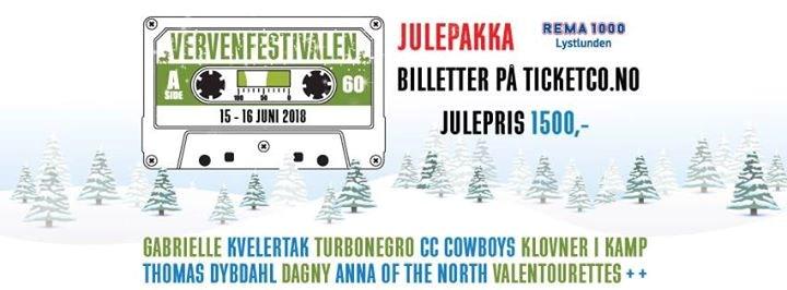 Vervenfestivalen 2018 - 5 års jubileum!
