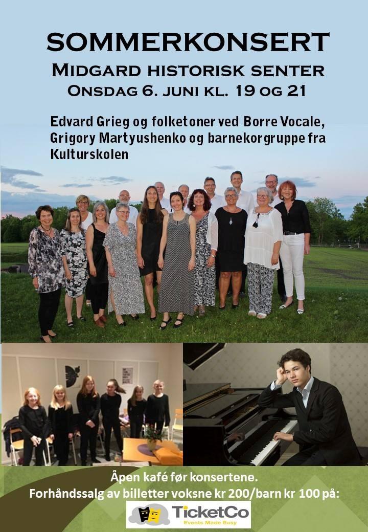 Sommerkonsert med Borre Vocale