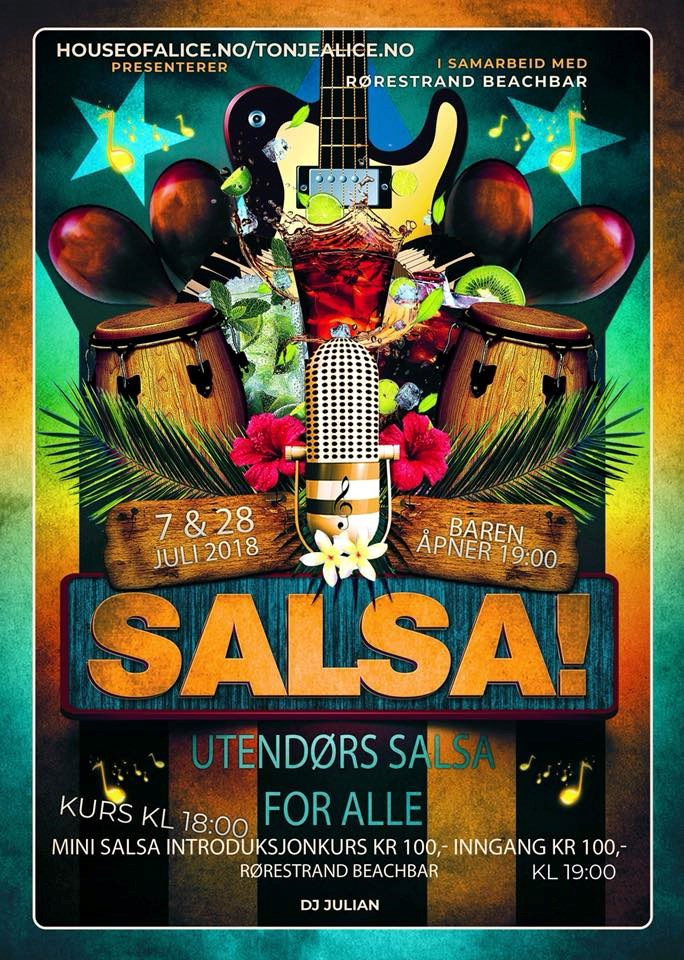 Sommer Salsa i Horten 7 & 28 juli