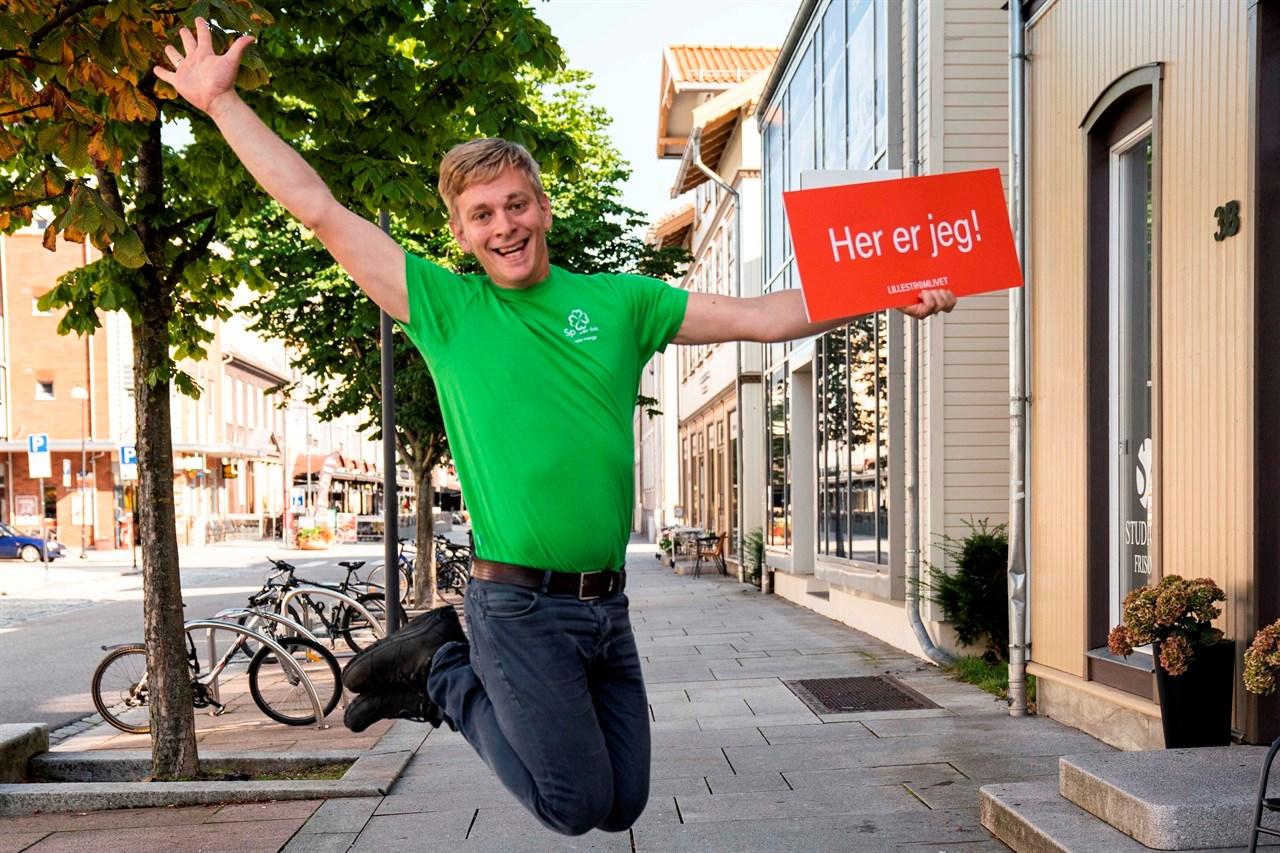 STEMMER JA! Thor Christian Grosås lever etter mottoet «Si JA til de mulighetene livet byr på, med mindre det er ulovlig eller farlig!».