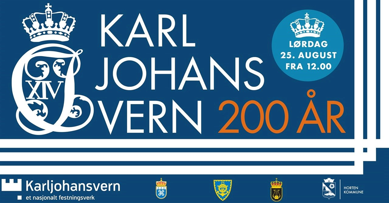 Karljohansvern 200 år - bli med på feiringen!
