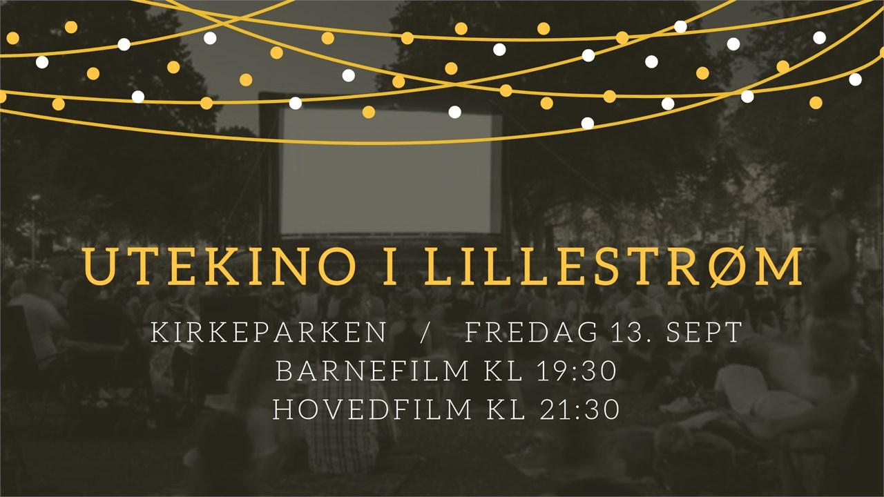 Bli med på utekino i Kirkeparken i Lillestrøm!