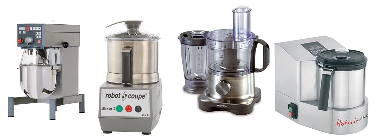 Foodprosessor, mikser, kjøkkenmaskin, blender, grønnsakskutter, blixer... hvilken maskin vil gi deg mest hjelp på kjøkkenet?