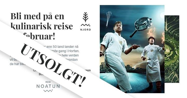 Utsolgt!! Gjestespill med The Flying Culinary Circus