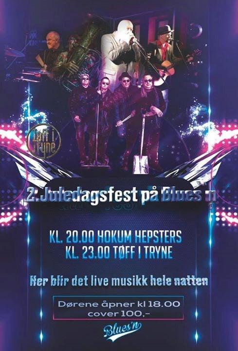 Hokum Hepsters og Tøff i Tryne spiller på Blues`n 2 juledag