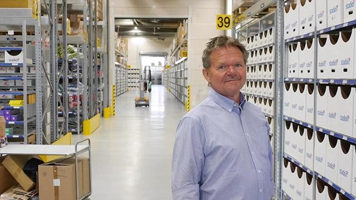 FORNØYD. Gisle Juel Daviknes, daglig leder i Stadion ser mot en oppgang på 5,5 prosent for året.