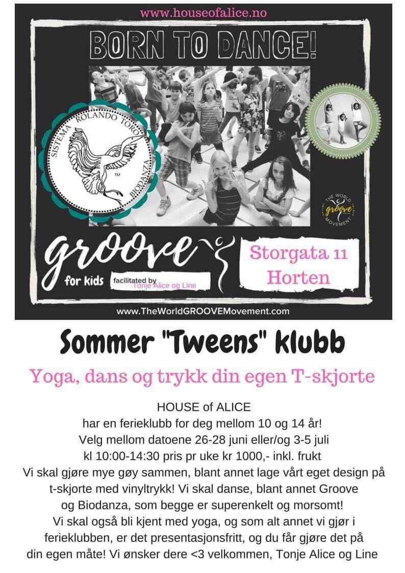 Sommer «tweens» klubb