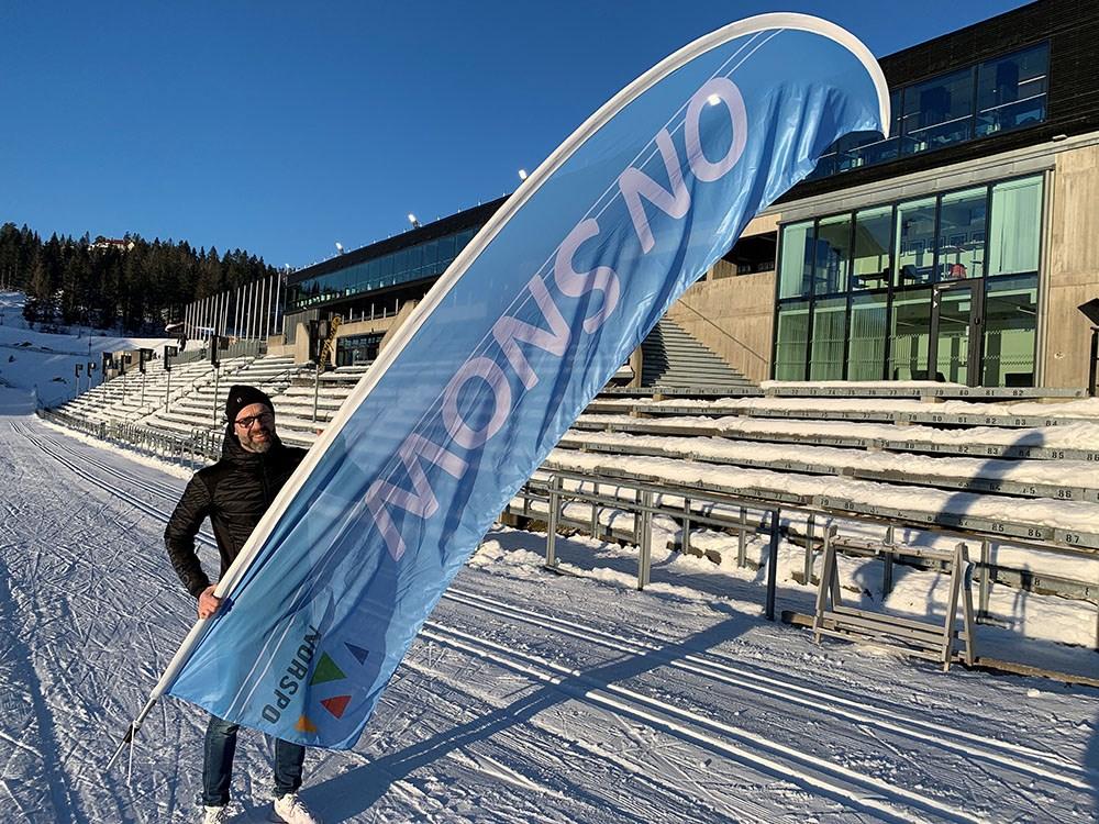 Sjefen for On Snow, Trond Evald Hansen, venter bare på at det blir trygt å samles igjen - alt annet er klart til året skitest for norsk sportsbransje.