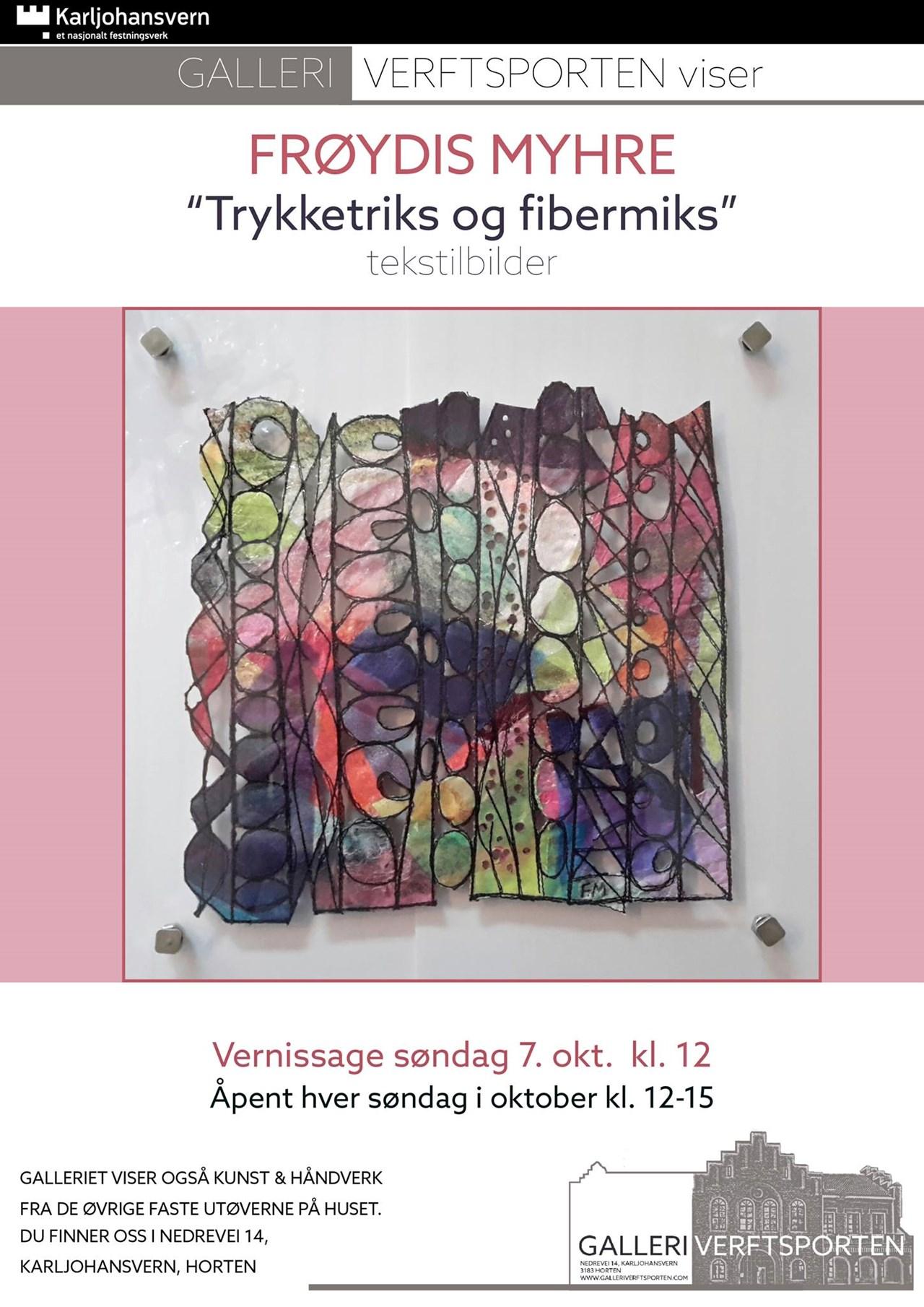 Oktober i galleriet -Frøydis Myhre -