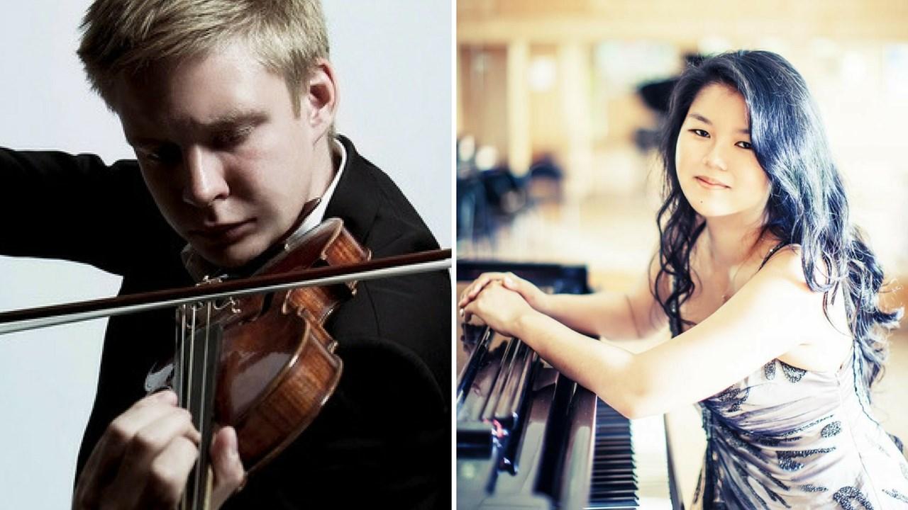 Sesongåpning av Stallen Klassisk<br/>Fiolinisten Christoffer Tun Andersen og Pianisten Maria  Kan Selvik